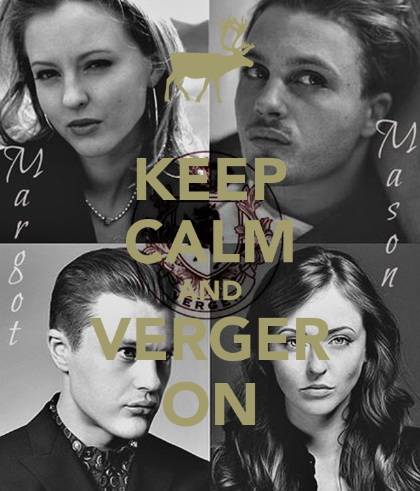 KEEP CALM AND VERGER ON