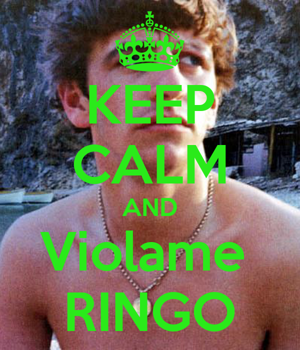 KEEP CALM AND Violame  RINGO