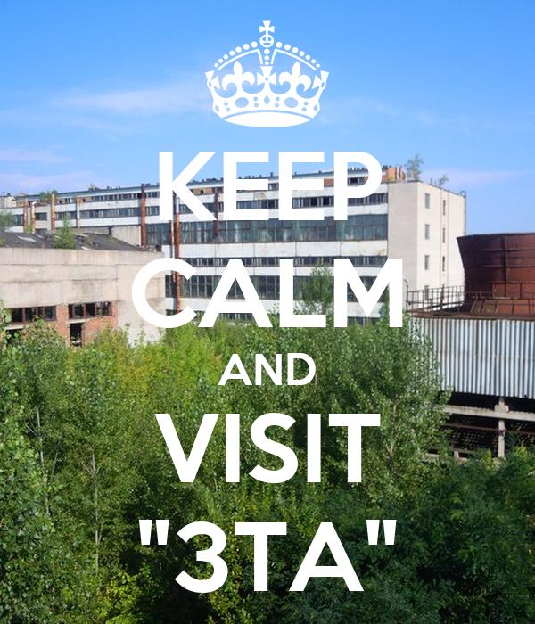"KEEP CALM AND VISIT ""3TA"""