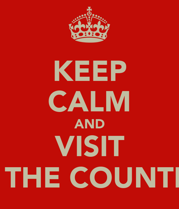 KEEP CALM AND VISIT ALL THE COUNTRIES