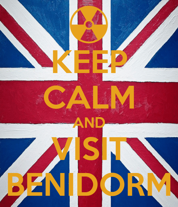 KEEP CALM AND VISIT BENIDORM