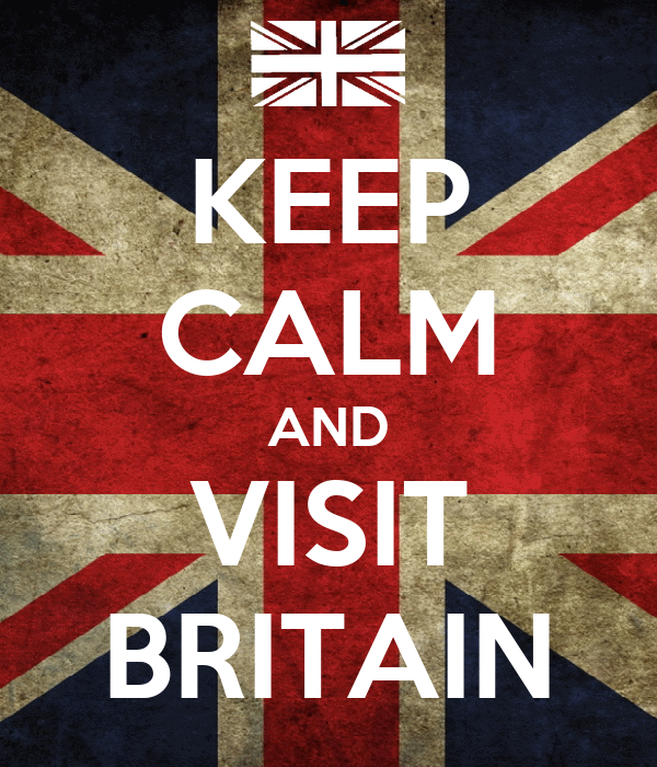 KEEP CALM AND VISIT BRITAIN