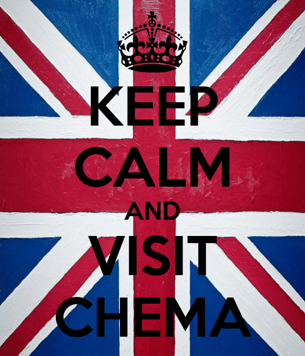 KEEP CALM AND VISIT CHEMA