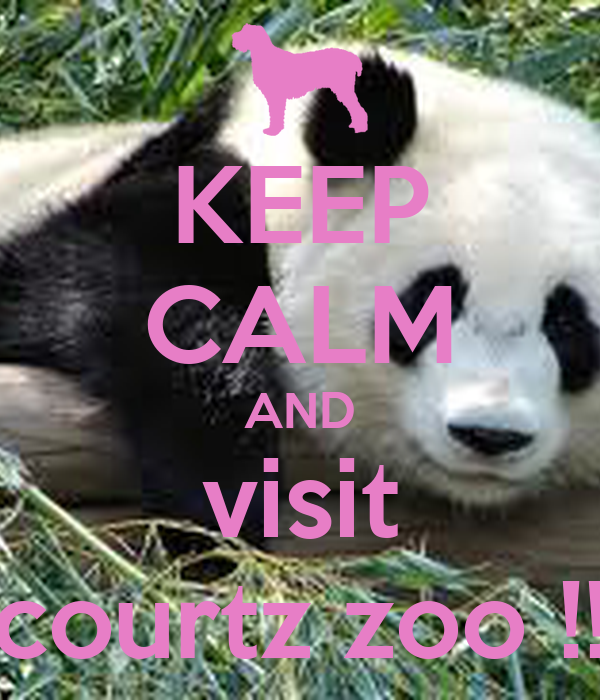 KEEP CALM AND visit courtz zoo !!