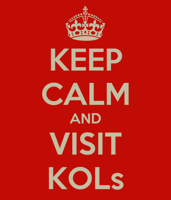 KEEP CALM AND VISIT KOLs