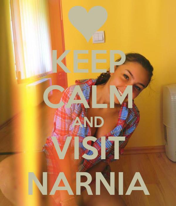 KEEP CALM AND VISIT NARNIA