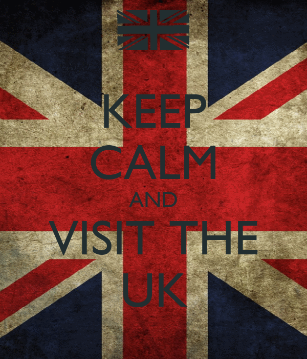 KEEP CALM AND VISIT THE UK