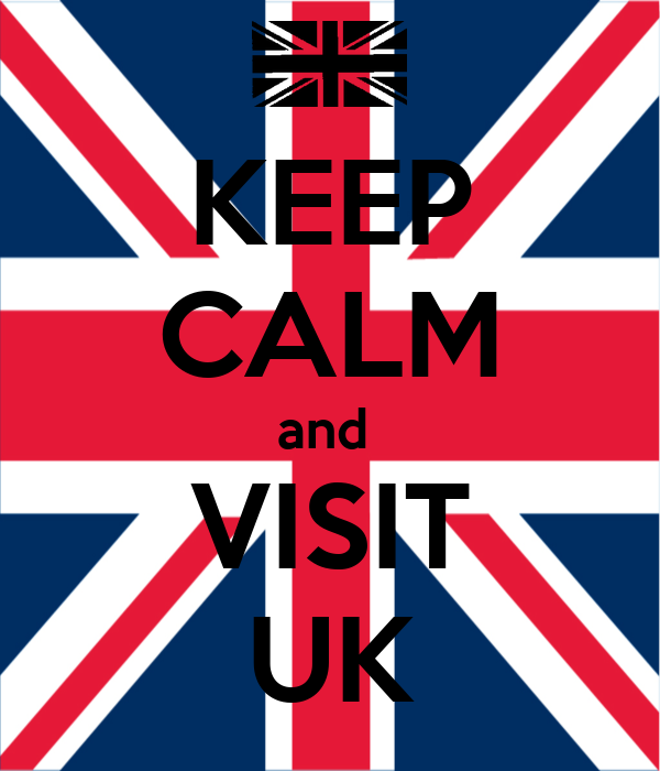 KEEP CALM and  VISIT UK