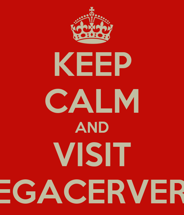 KEEP CALM AND VISIT VEGACERVERA
