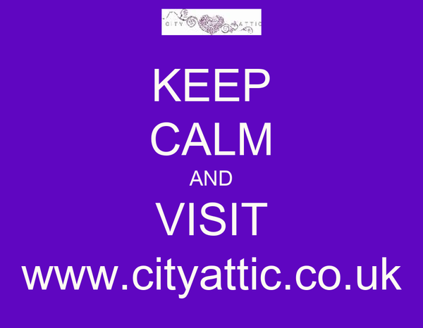 KEEP CALM AND VISIT www.cityattic.co.uk