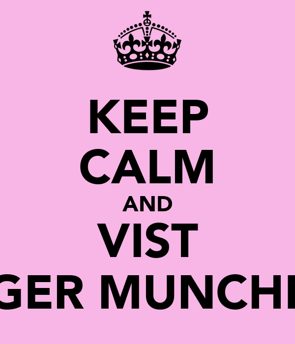 KEEP CALM AND VIST GINGER MUNCHKINS