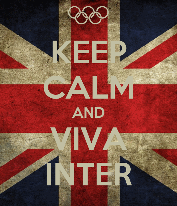 KEEP CALM AND VIVA INTER