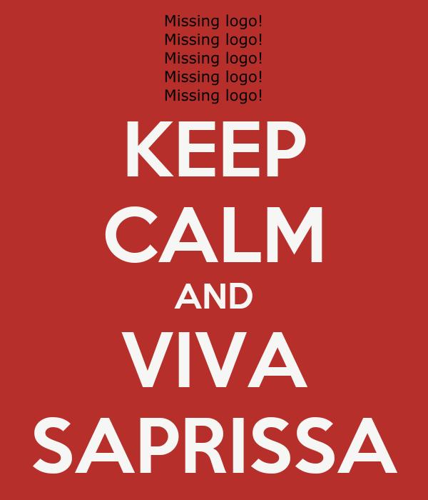 KEEP CALM AND VIVA SAPRISSA