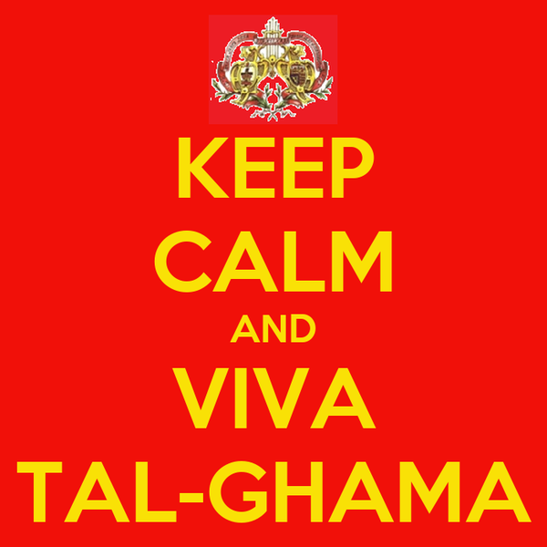 KEEP CALM AND VIVA TAL-GHAMA