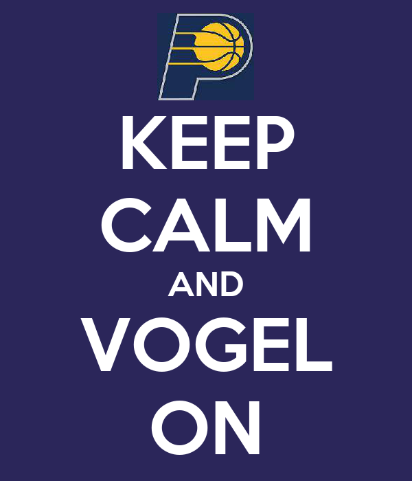 KEEP CALM AND VOGEL ON