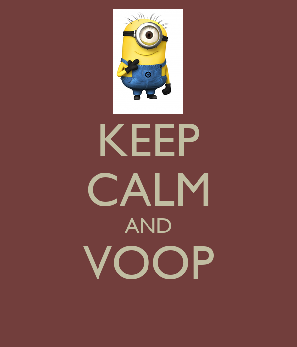 KEEP CALM AND VOOP