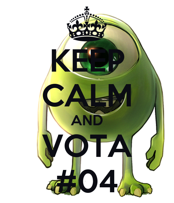 KEEP CALM AND VOTA #04