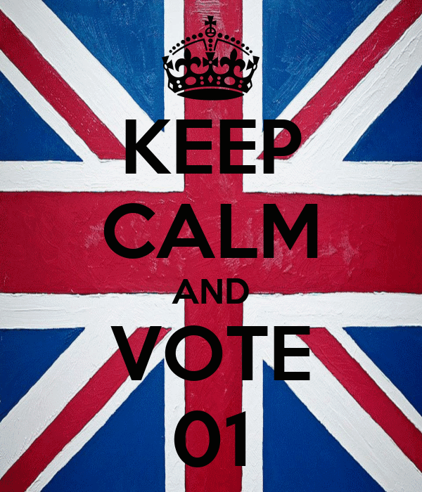 KEEP CALM AND VOTE 01