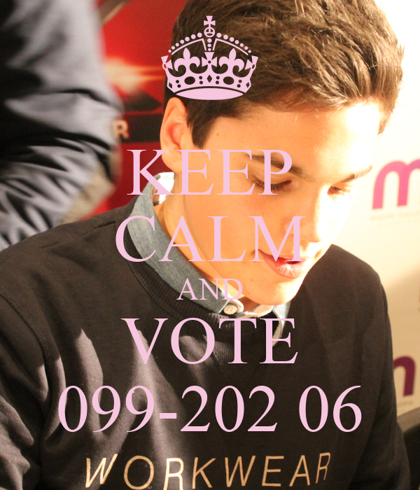 KEEP CALM AND VOTE 099-202 06
