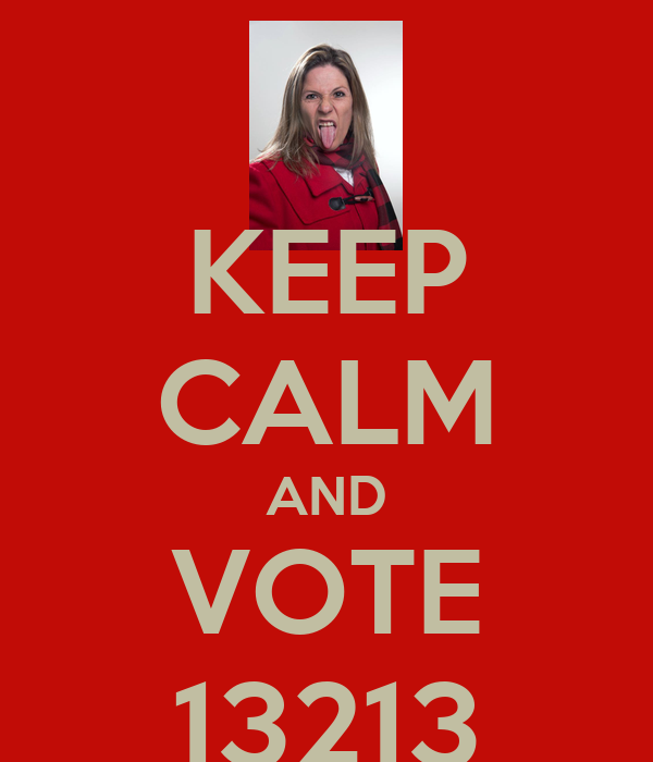 KEEP CALM AND VOTE 13213