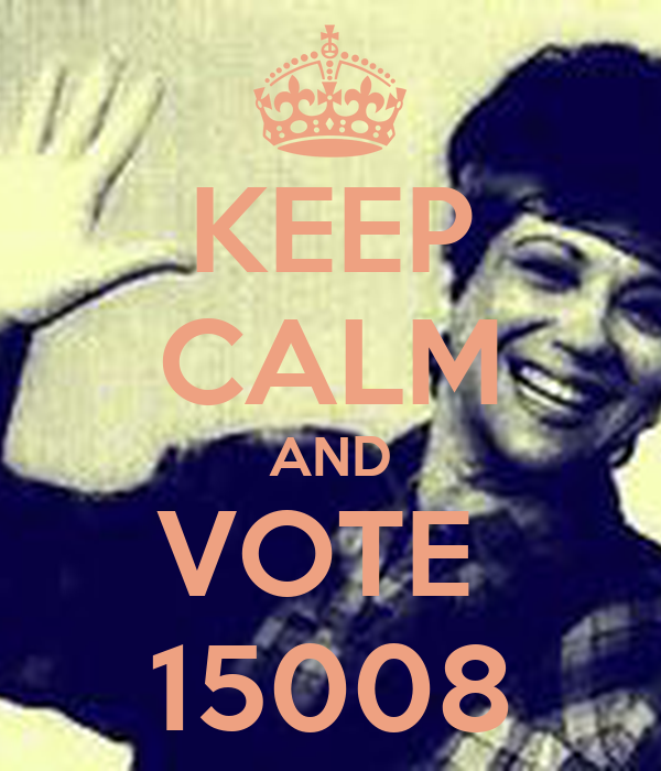 KEEP CALM AND VOTE  15008