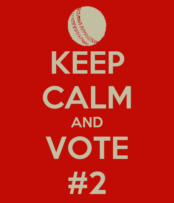 KEEP CALM AND VOTE #2
