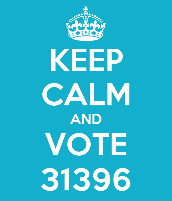 KEEP CALM AND VOTE 31396