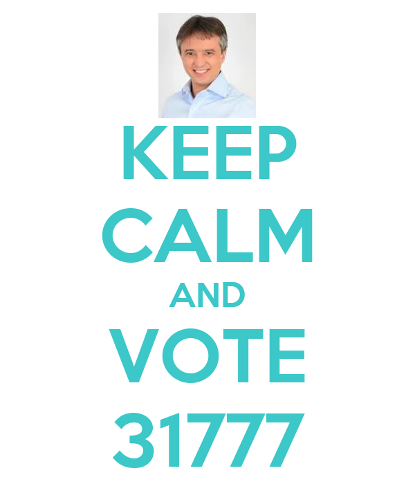 KEEP CALM AND VOTE 31777