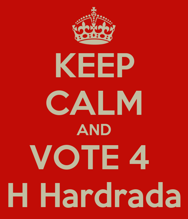 KEEP CALM AND VOTE 4  H Hardrada