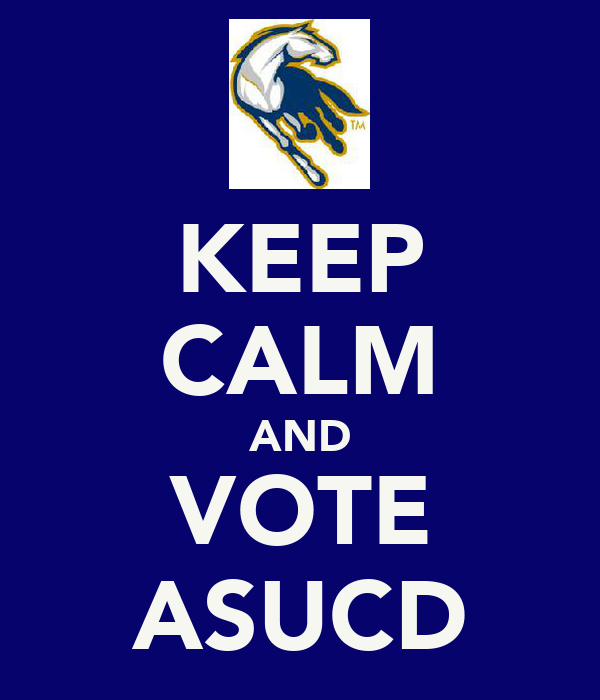 KEEP CALM AND VOTE ASUCD