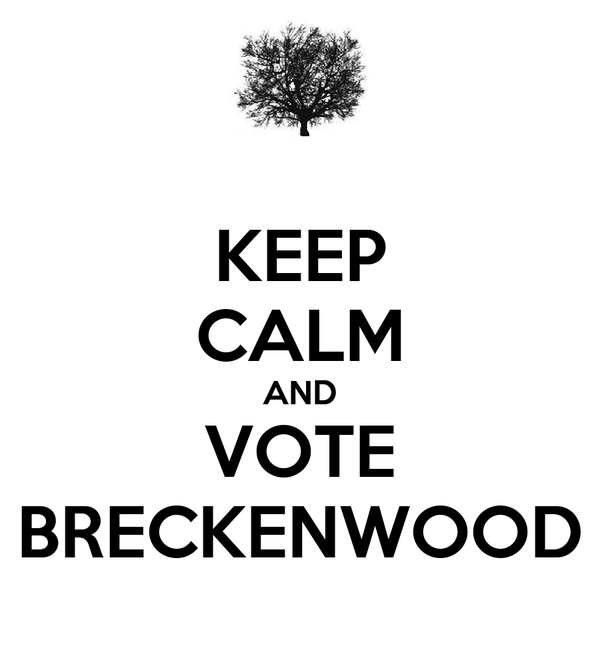 KEEP CALM AND VOTE BRECKENWOOD