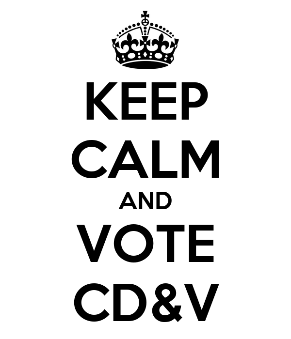 KEEP CALM AND VOTE CD&V