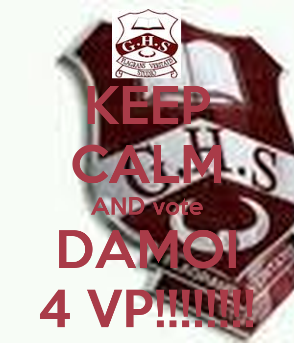 KEEP CALM AND vote DAMOI 4 VP!!!!!!!!