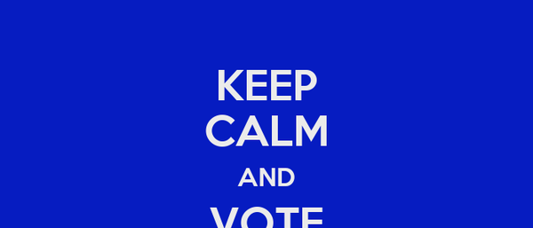 KEEP CALM AND VOTE DANIELLE SMITH