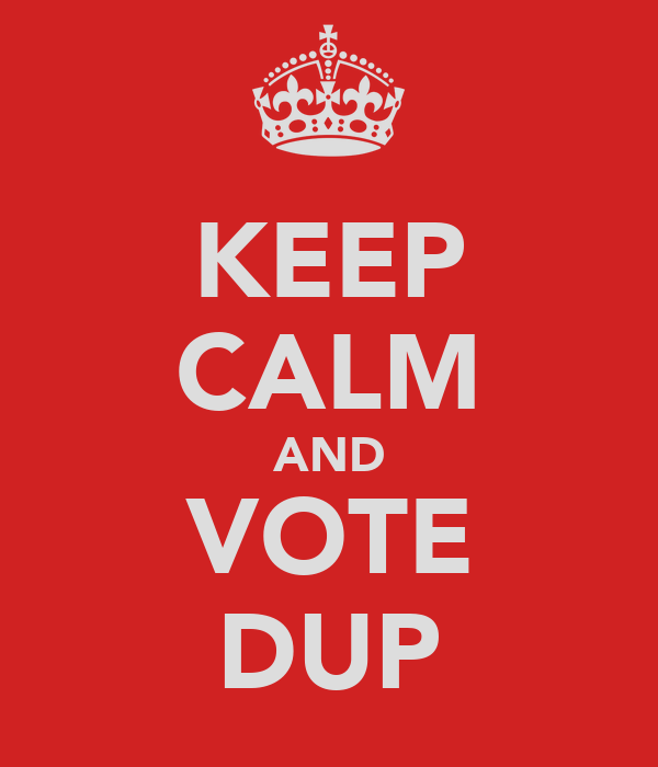 KEEP CALM AND VOTE DUP