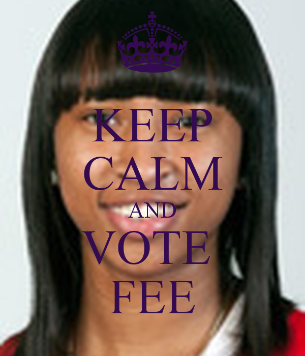 KEEP CALM AND VOTE  FEE