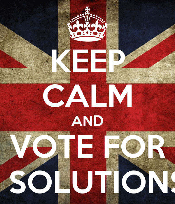KEEP CALM AND VOTE FOR 8 SOLUTIONS