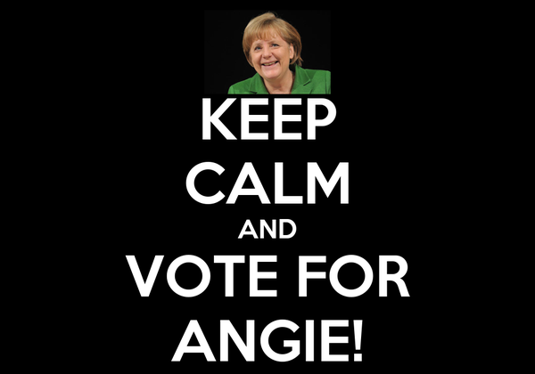 KEEP CALM AND VOTE FOR ANGIE!