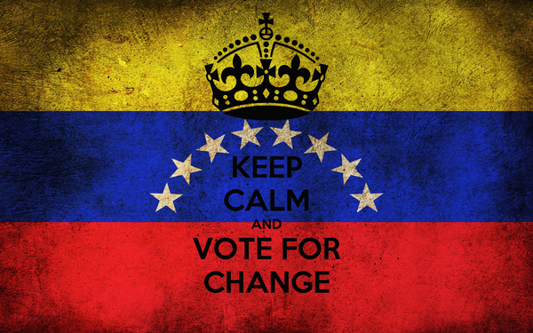 KEEP CALM AND VOTE FOR CHANGE