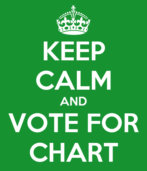 KEEP CALM AND VOTE FOR CHART