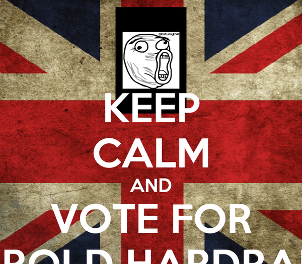 KEEP CALM AND VOTE FOR HAROLD HARDRADA