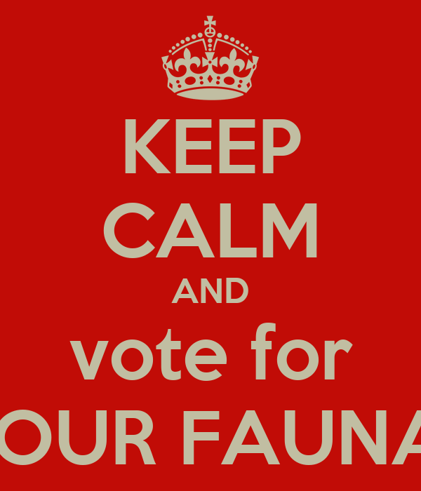 KEEP CALM AND vote for JAINAM GHELANI AS YOUR FAUNA HOUSE VICE CAPTAIN