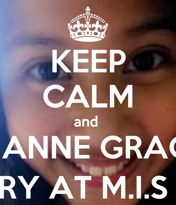 KEEP CALM and  VOTE FOR JULIANNE GRACE ASPILLAGA  AS SECRETARY AT M.I.S (May I Serve)