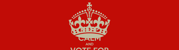 KEEP CALM AND VOTE FOR SARAH MASAD