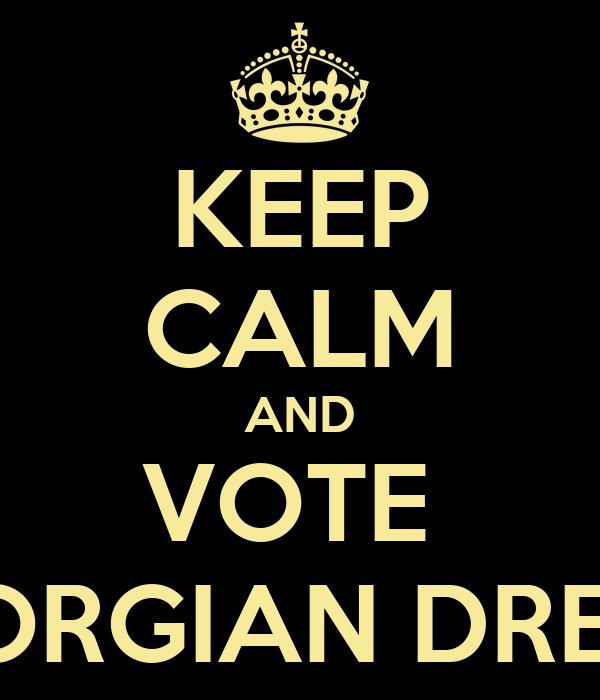 KEEP CALM AND VOTE  GEORGIAN DREAM