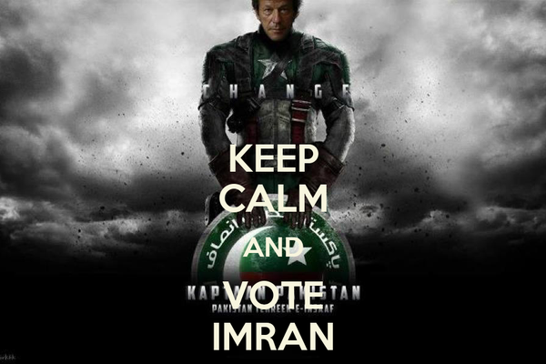 KEEP CALM AND VOTE IMRAN