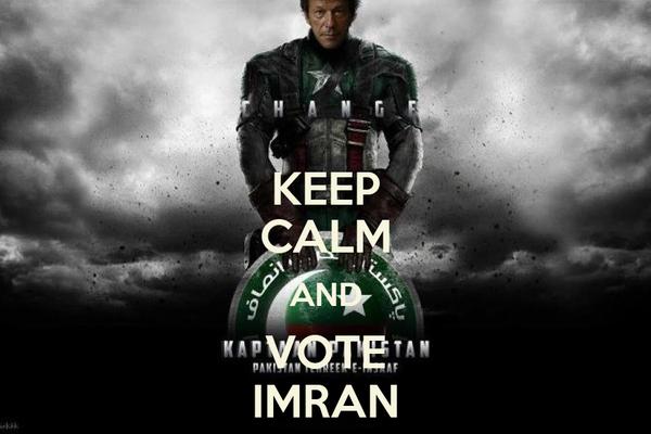 KEEP CALM AND VOTE IMRAN