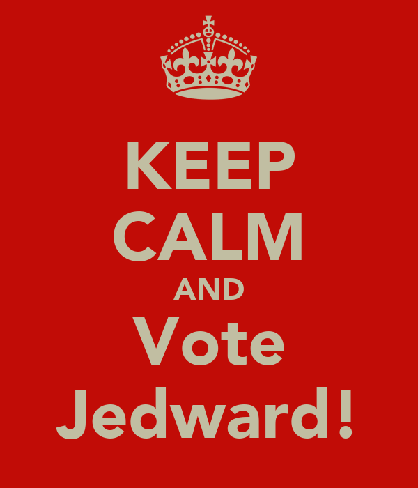 KEEP CALM AND Vote Jedward!
