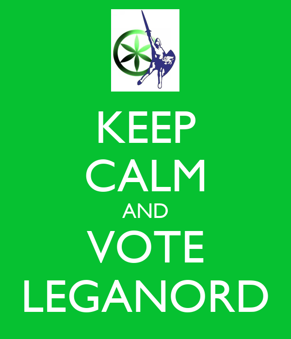 KEEP CALM AND VOTE LEGANORD