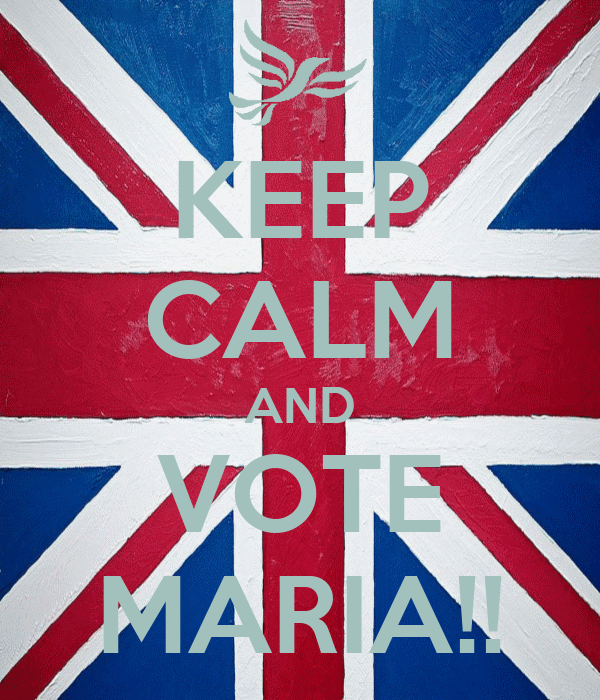 KEEP CALM AND VOTE MARIA!!